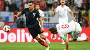 Dejan Lovren Croatia Harry Kane England