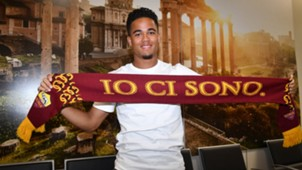 Justin Kluivert AS Rom