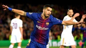 Luis Suarez Barcelona Roma UEFA Champions League