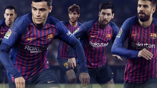 Barcelona home shirt 2018-19