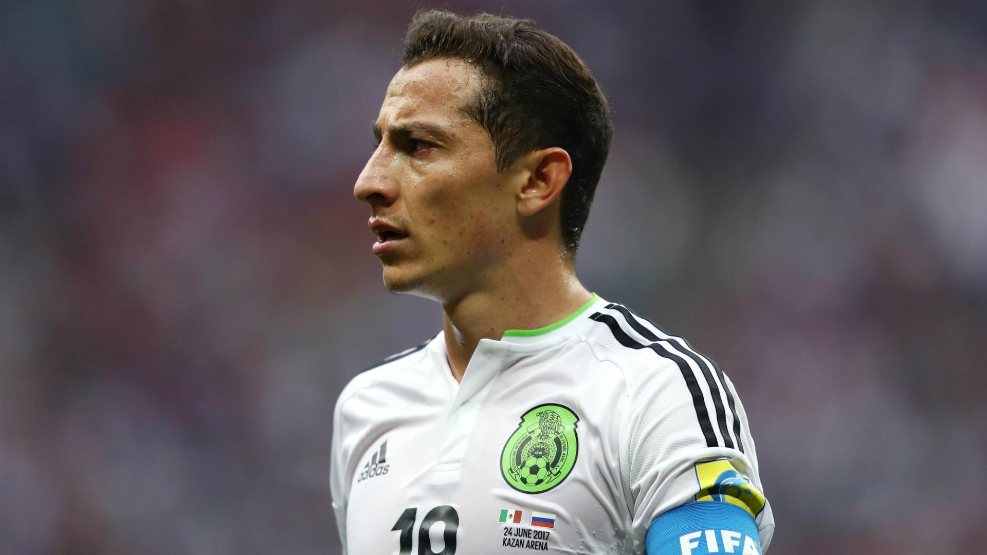 Andrés Guardado México - Rusia Confederaciones