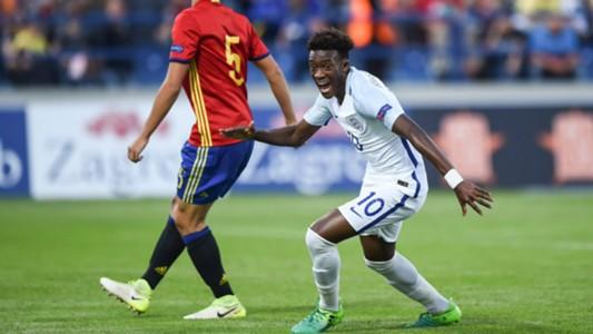 England Spain Sub 17