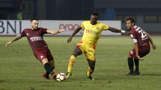 Guy Junior - Bhayangkara FC & Steven Paulle - PSM Makassar Pekan Ke-30