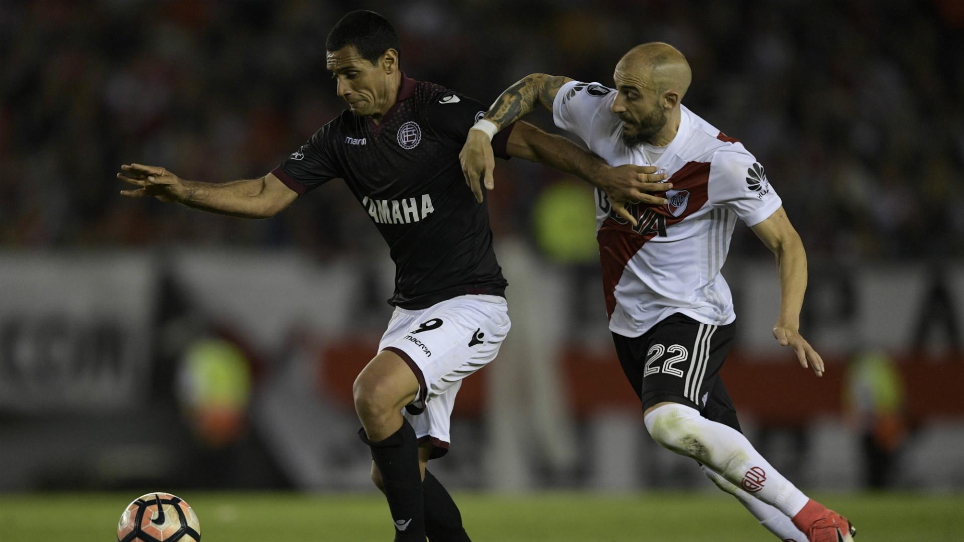 Sand Pinola Lanus River Semifinal Copa Libertadores 31102017
