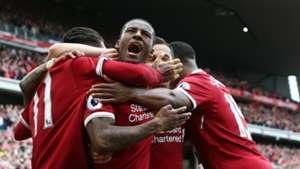 Gini Wijnaldum Liverpool Premier League