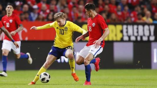 Emil Forsberg - Suecia - Chile