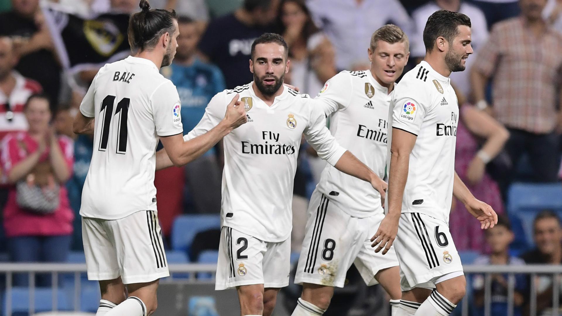 Dani Carvajal Real Madrid Getafe 19082018