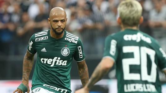 Felipe Melo Corinthians Palmeiras 31032018 Paulista Final