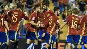 Ramos Pique Spain Albania