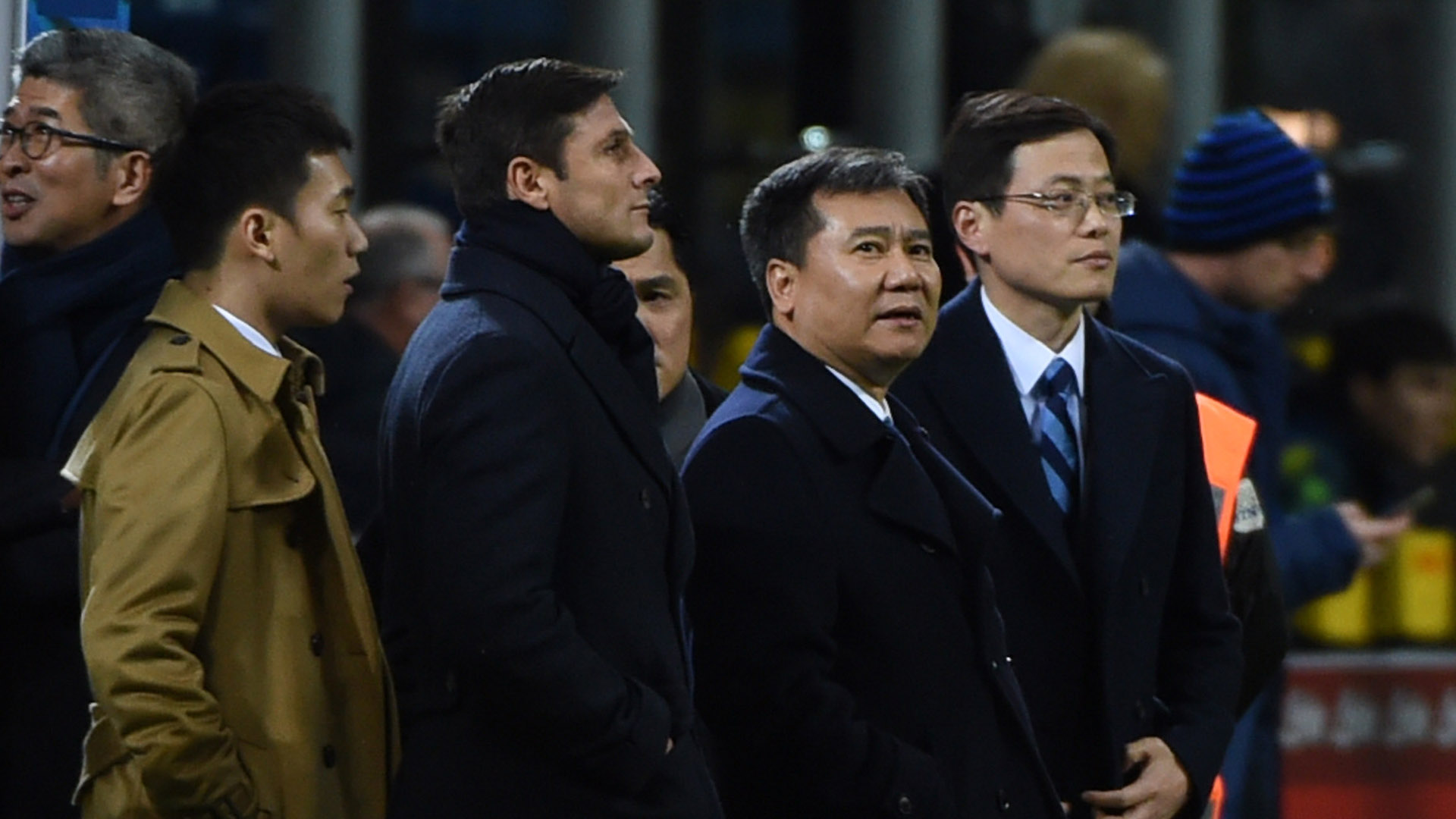 Steven Zhang Javier Zanetti Inter Milan Serie A
