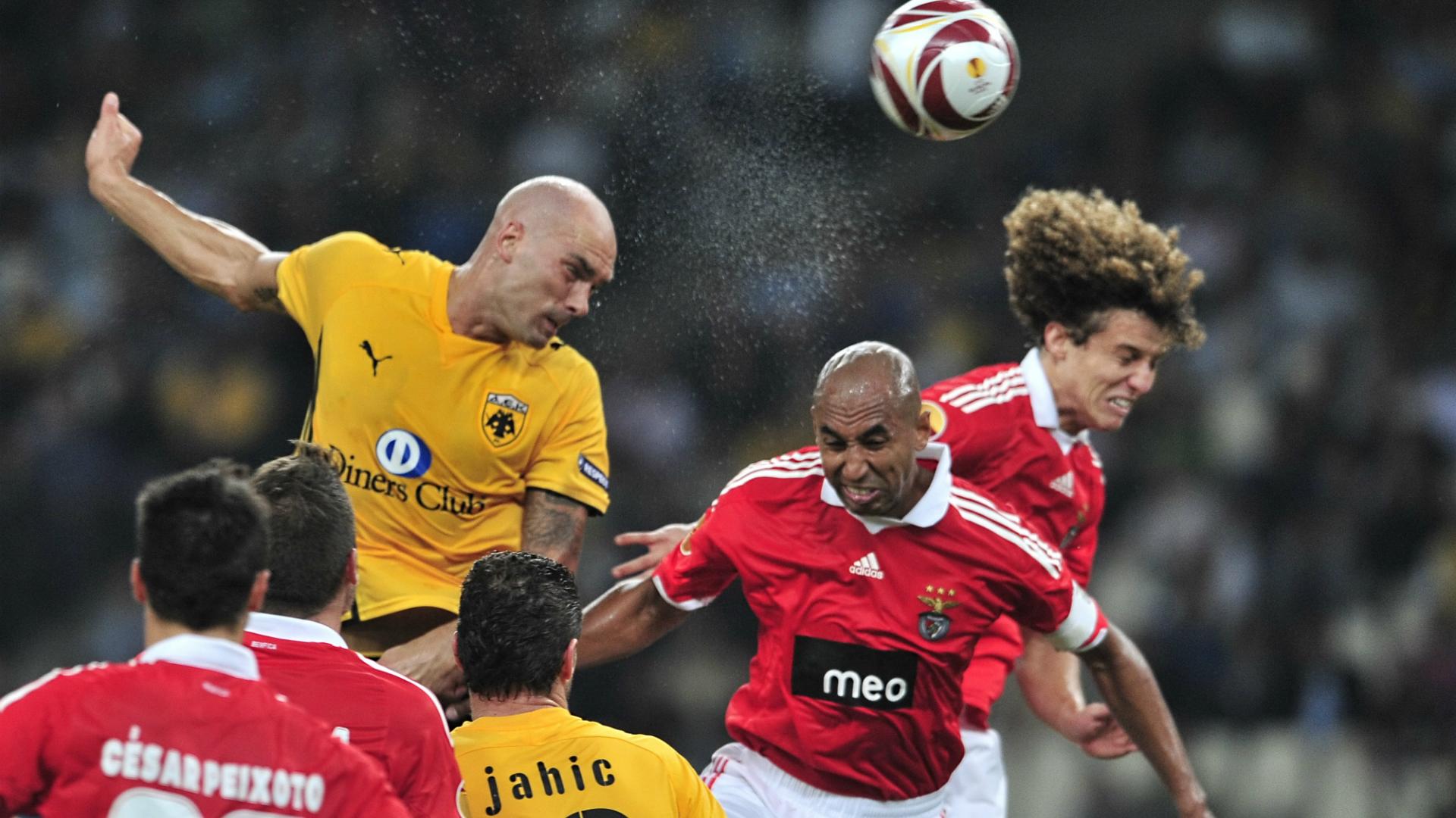 Daniel Majstorovic AEK - Benfica Europa League 10012009