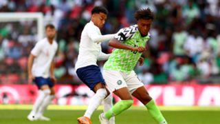 Alex Iwobi Dele Alli England Nigeria 2018