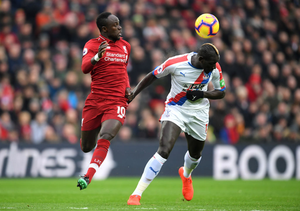 Sadio Mane Liverpool vs Crystal Palace EPL 190119