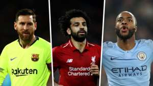 Champions League | Lionel Messi, Mo Salah, Raheem Sterling