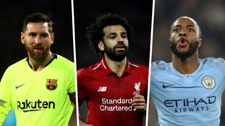 Champions League   Lionel Messi, Mo Salah, Raheem Sterling