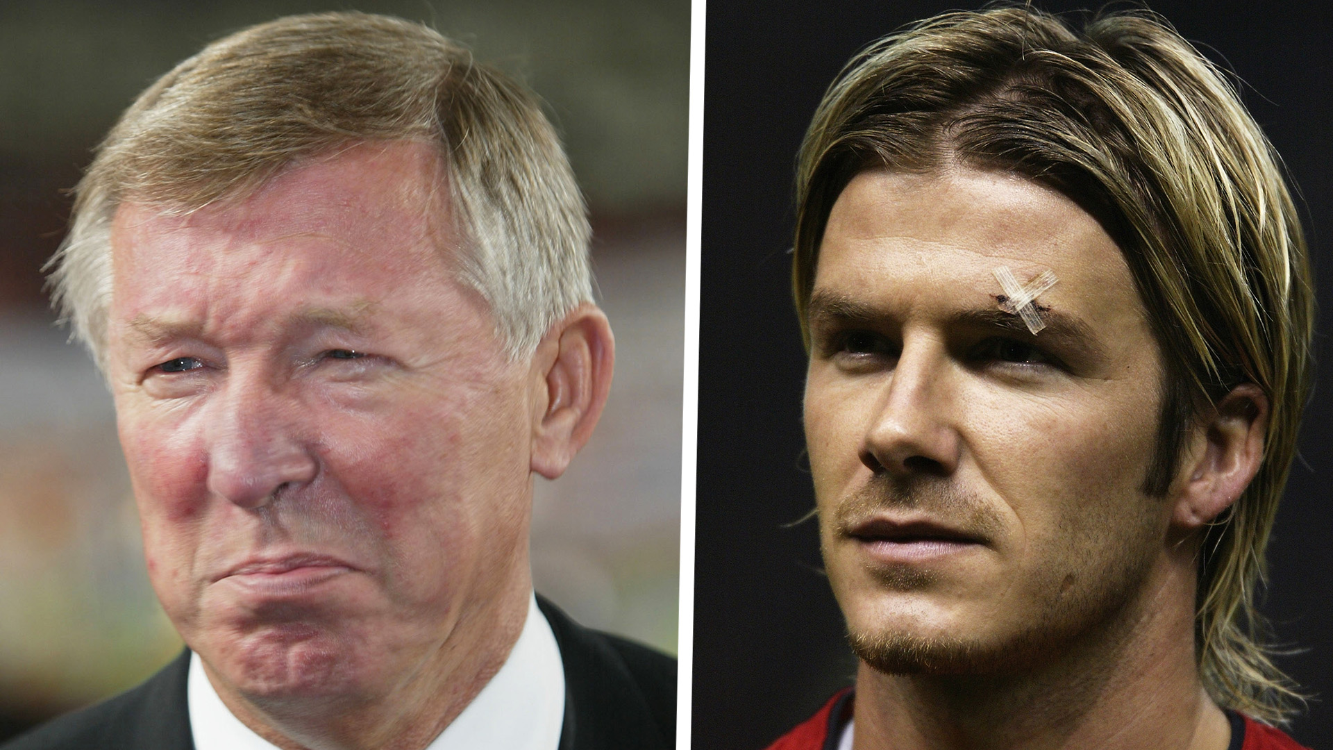 Alex Ferguson David Beckham