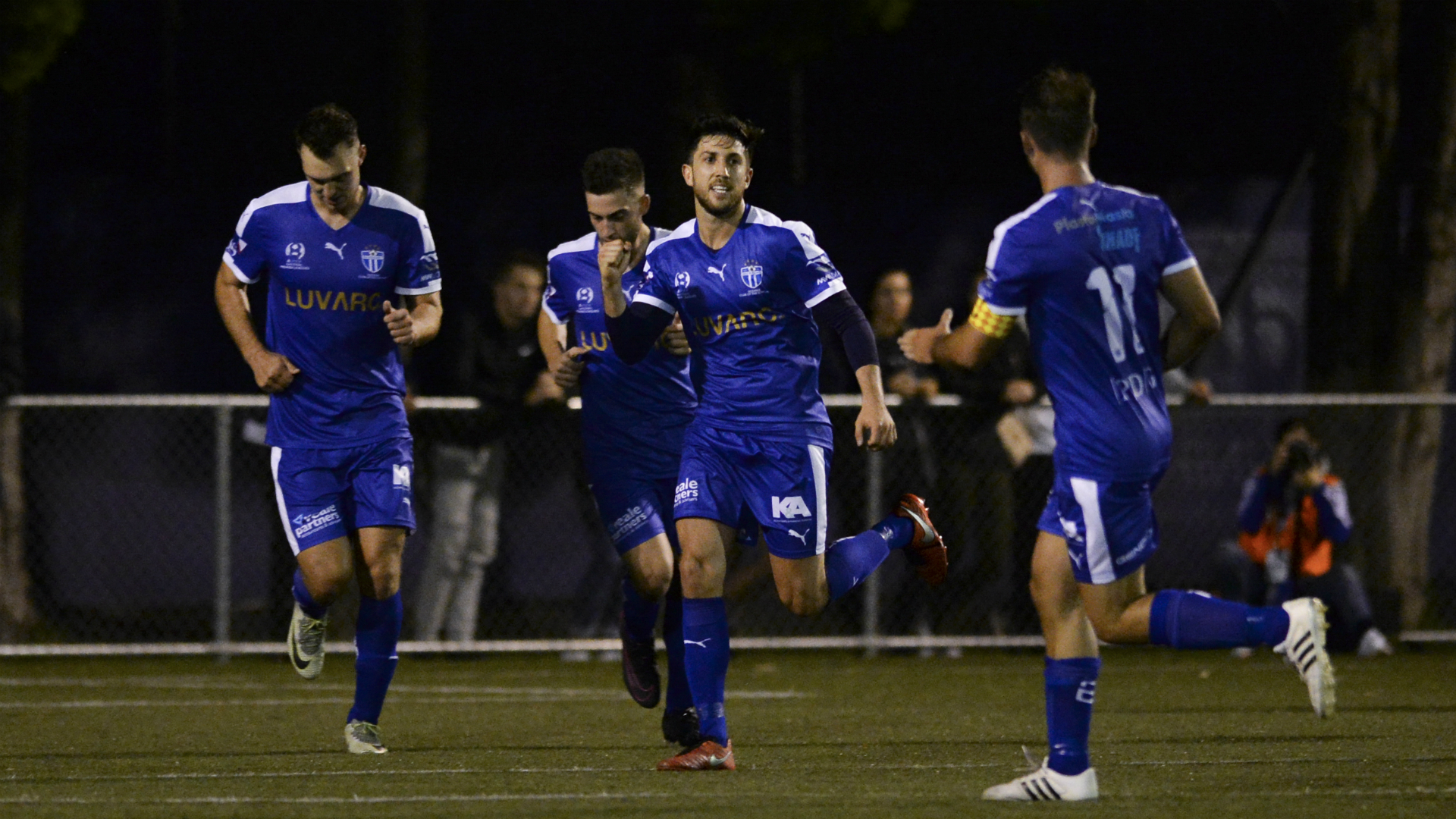Leigh Minopoulos Bulleen Lions v South Melbourne NPL Victoria 13022017