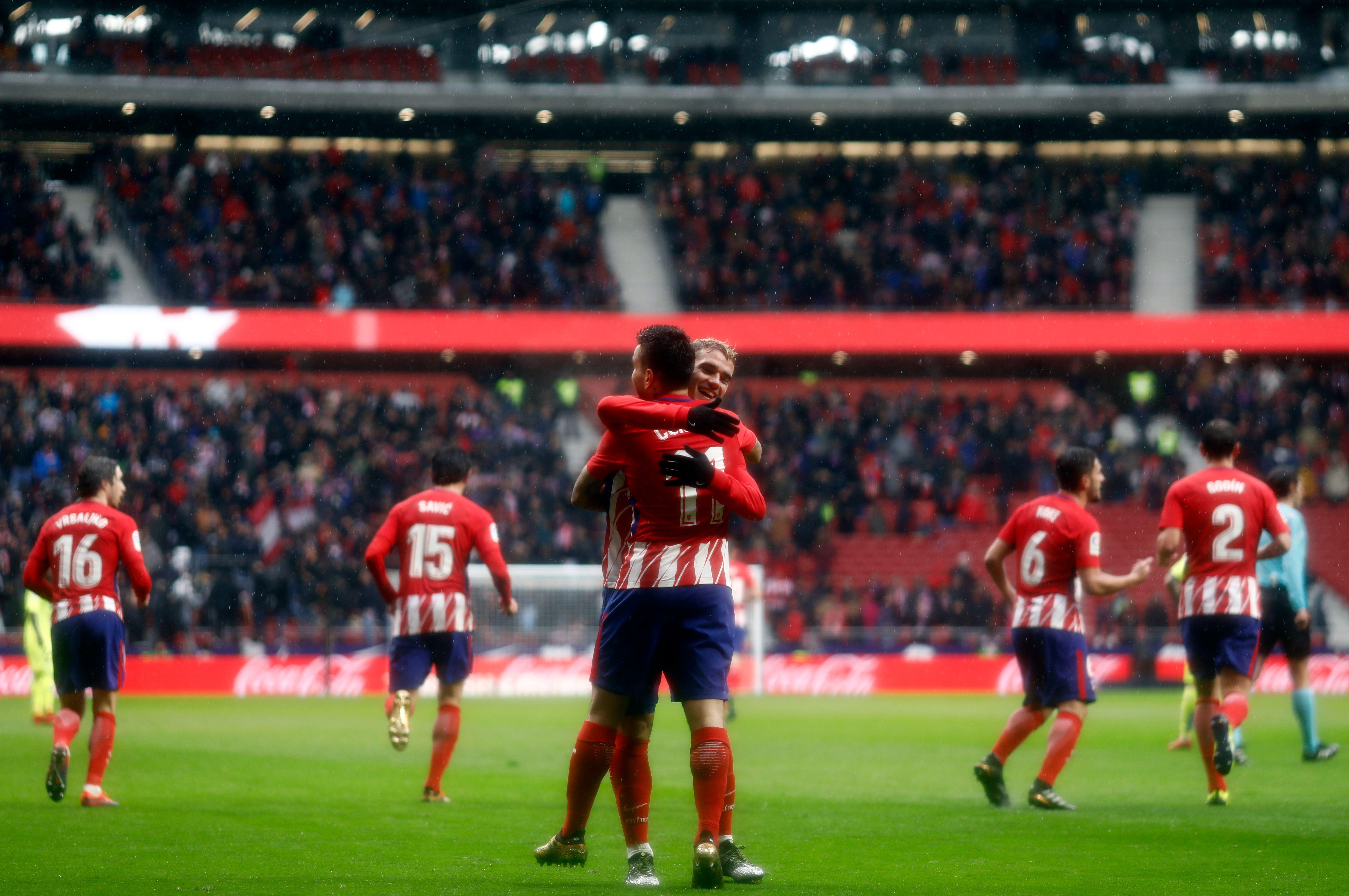 Atletico Madrid Contra Getafe En Vivo
