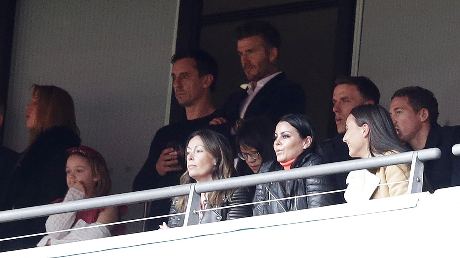 David Beckham Gary Neville Salford City 2019