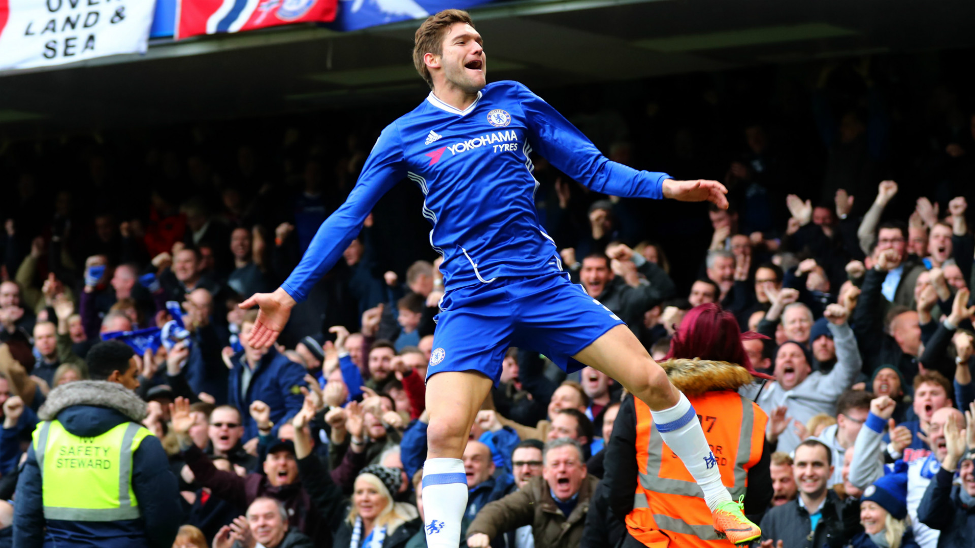 HD Marcos Alonso Chelsea Arsenal