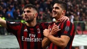 Cutrone Andrè Silva Milan Chievo Serie A