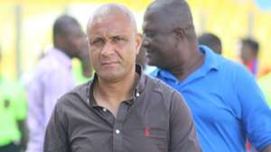 Hearts of Oak coach Kim Grant