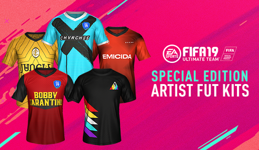 Embed only FIFA 19 Ultimate Team Artist Kits