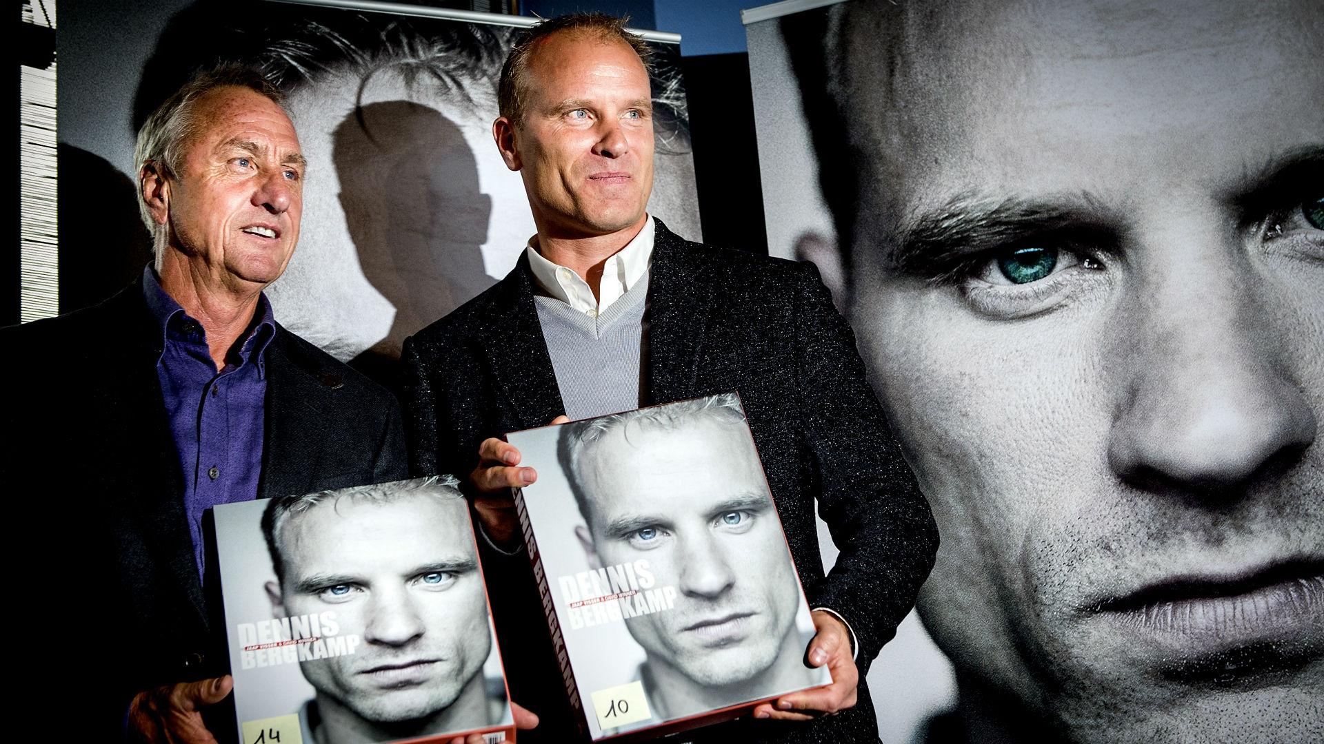 Johan Cruyff Dennis Bergkamp book