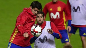 Spain Alvaro Morata Javi Martinez