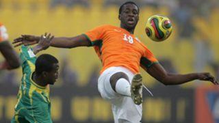 Mahamadou Dissa of Mali, Yaya Toure of the Cote d'Ivoire