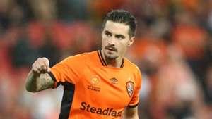 Jamie Maclaren Brisbane Roar v Western Sydney Wanderers A-League 21042017