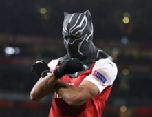 Aubameyang Arsenal Black Panther