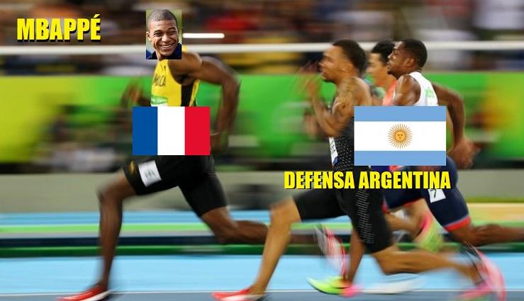 Memes Argentina vs Francia