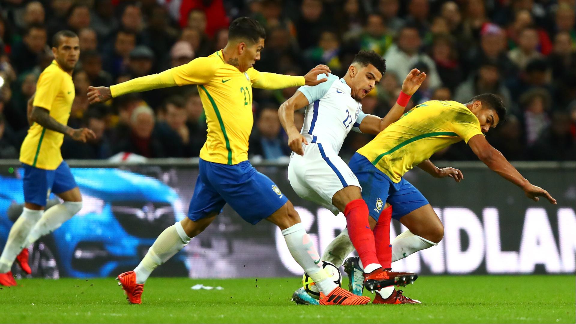 Dominic Solanke England Brazil