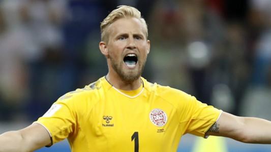 Kasper Schmeichel Denmark 2018