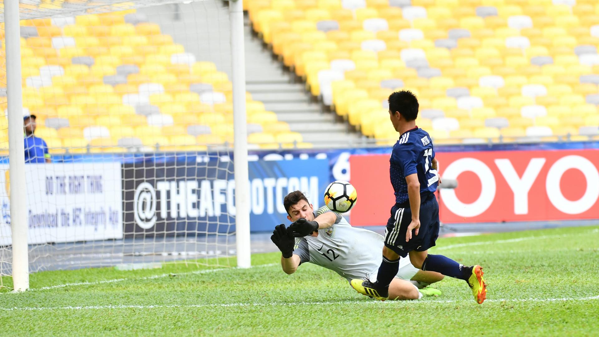 Adam Pavlesic, Australia U16, AFC U16 Championship