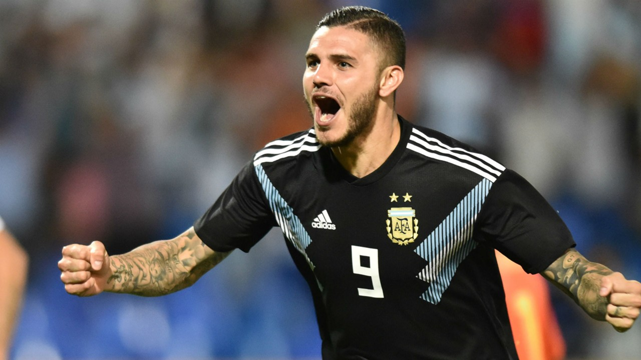 Image result for 'I was waiting for it' - Icardi thrilled to break 'ugly' Argentina scoring drought