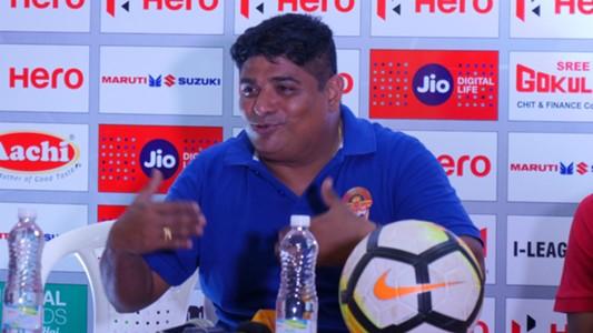Bino George Gokulam Kerala I-League 2017-18