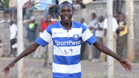 AFC Leopards striker Marcellus Ingotsi.