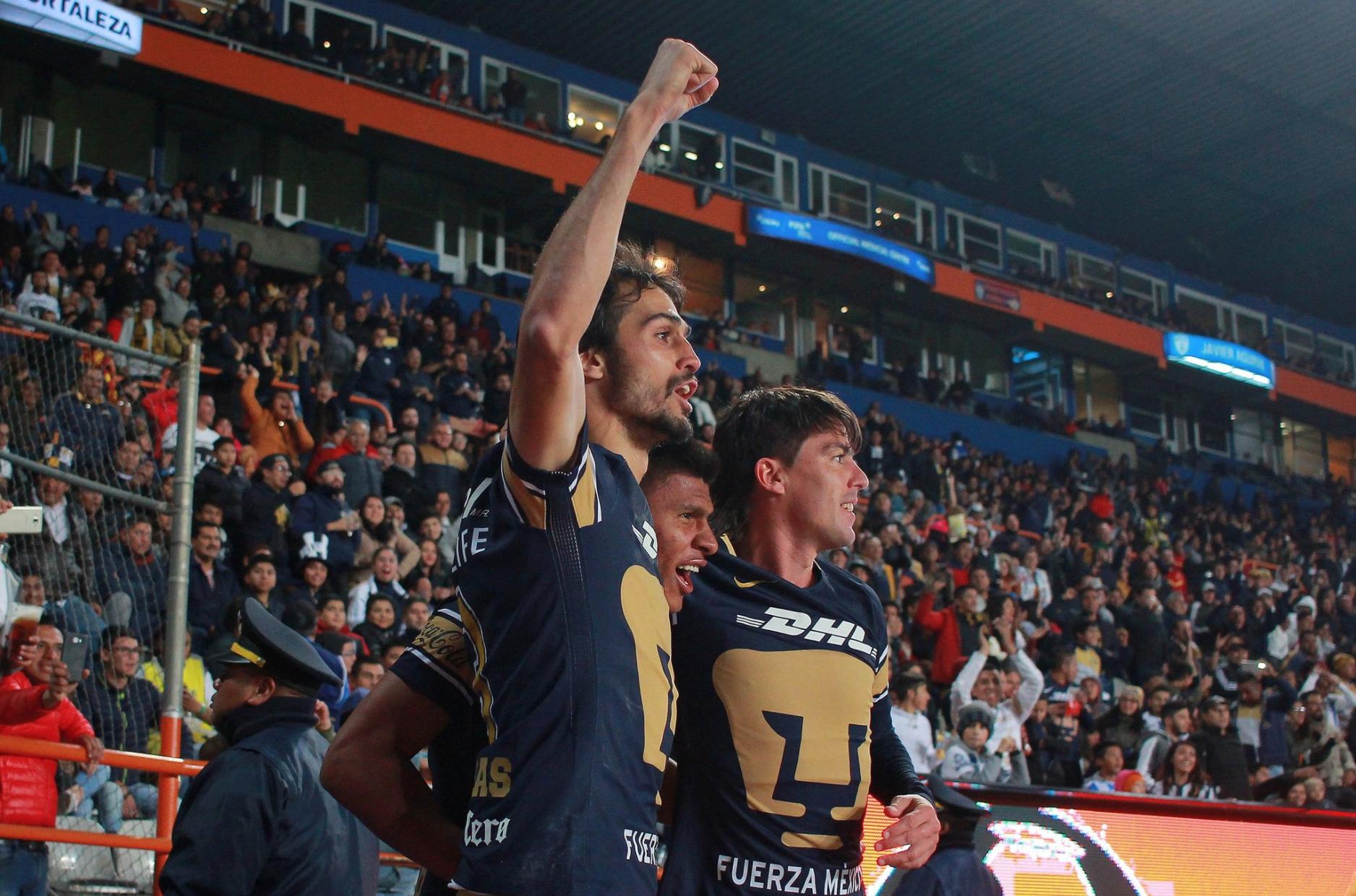 Pumas Alejandro Arribas Jesús Gallardo Mauro Formica Clausura 2018