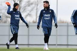 Lionel messi Argentinien Training