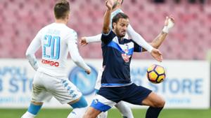 Alberto Gilardino Napoli Pescara Serie A 15012017