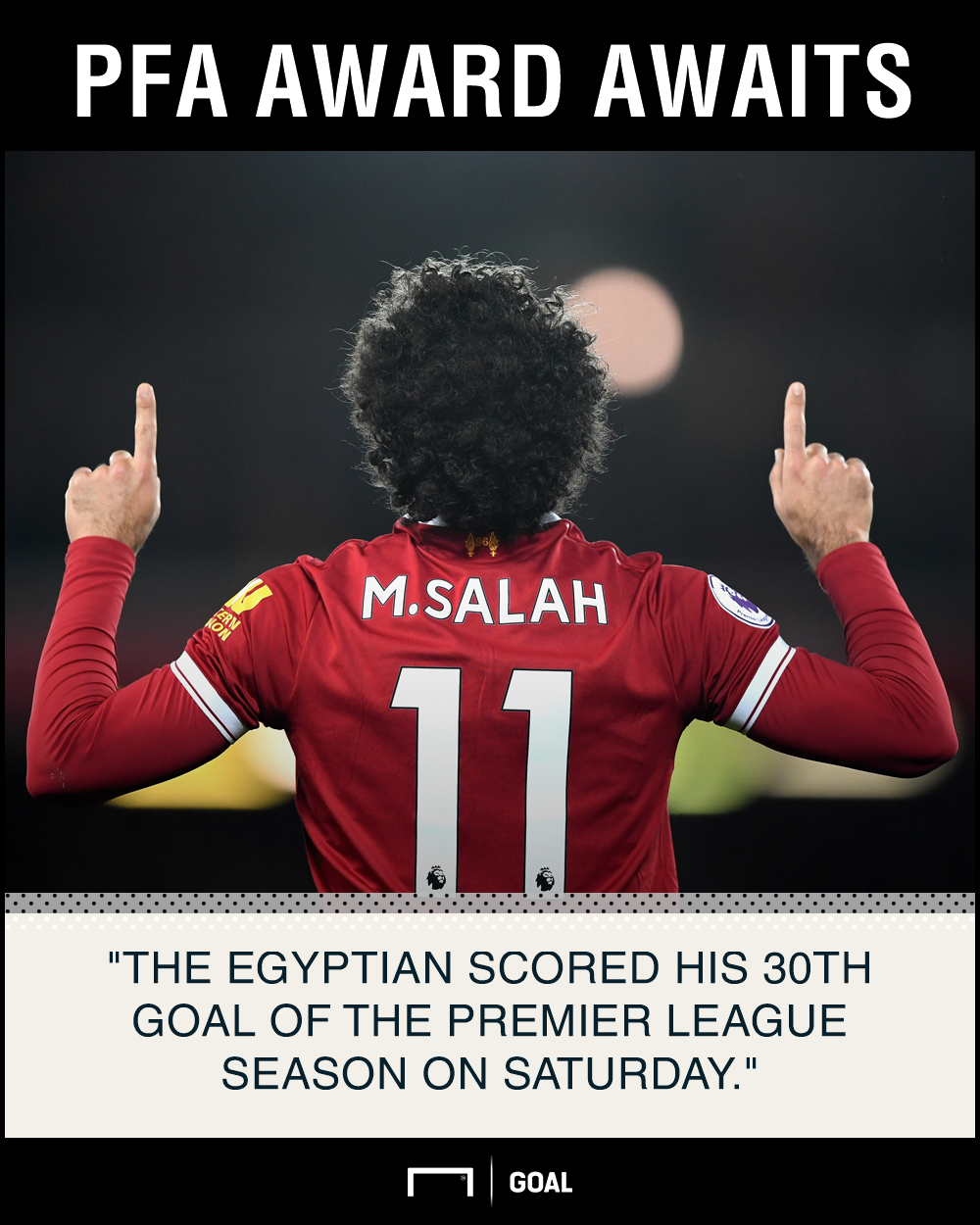 Salah PFA graphic