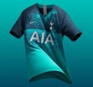 Tottenham Hotspur Third Kit 2018/19