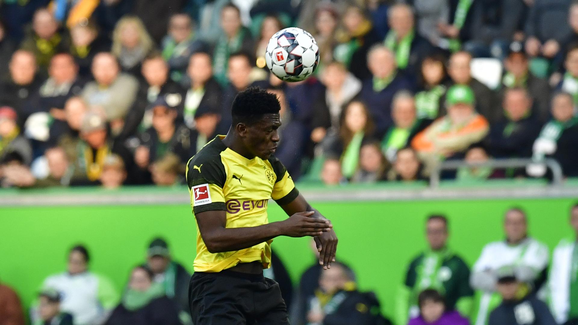 Dan-Axel Zagadou BVB Wolfsburg 04112018