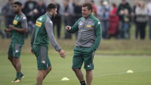 Dieter Hecking, Grifo, Trainingsauftakt, Borussia Mönchengladbach, 02072017