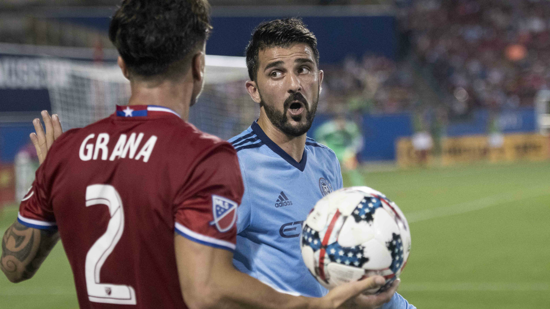 Hernan Grana FC Dallas David Villa New York City FC