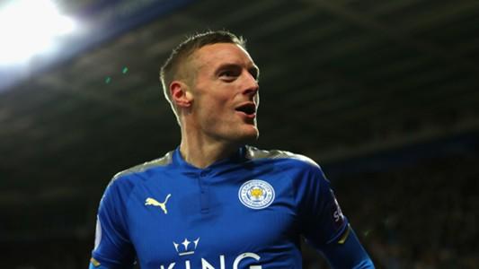 Jamie Vardy Leicester Tottenham