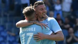 Milinkovic Savic Immobile Lazio Sampdoria