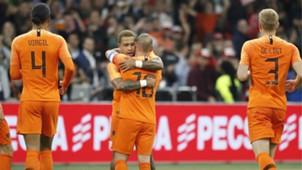 Wesley Sneijder Memphis Depay Netherlands